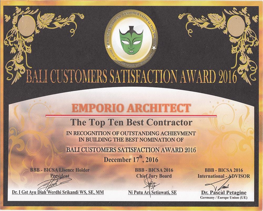 Penghargaan 2 Jasa Arsitek