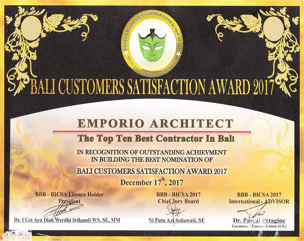 Penghargaan 3 Jasa Arsitek