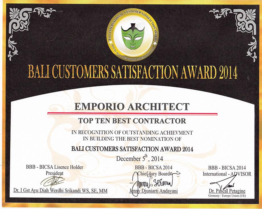 Penghargaan 1 Jasa Arsitek