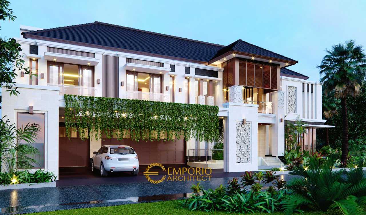 3 Desain Rumah Terbaik Bergaya Villa Bali Tropis di Medan, Sumatera Utara