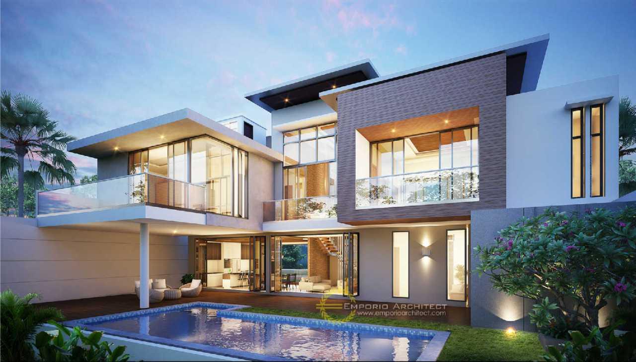 5 Desain Rumah Terbaik Bergaya Modern Tropis di Bandung