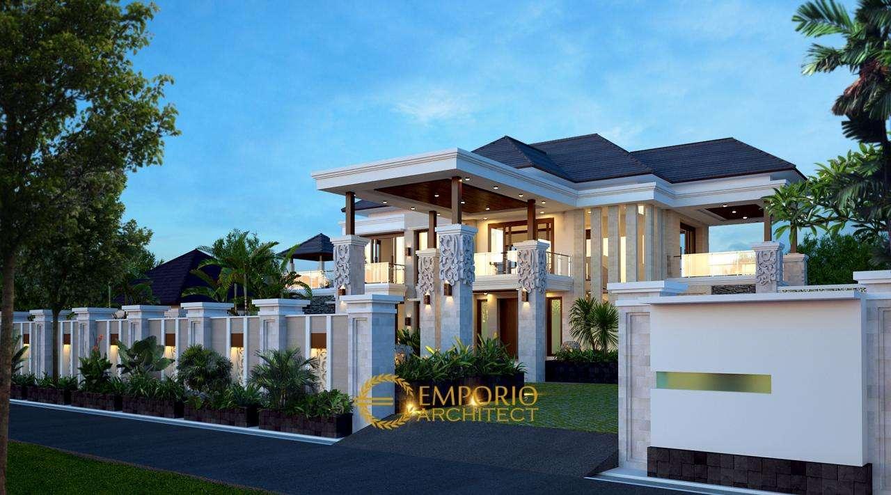 5 Desain Rumah Villa Bali 2 Lantai Terbaik dengan Lebar Lahan Lebih dari 30 Meter