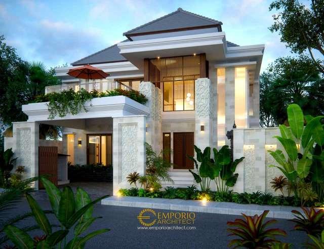 10 Desain Rumah Tinggal Terbaik Bergaya Villa Bali Tropis di Bali (Part 1 / 2)