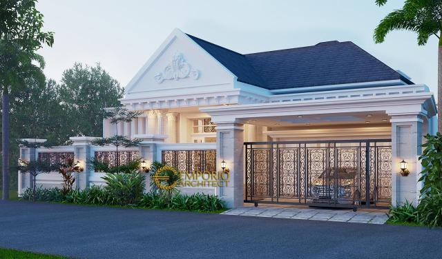 5 Desain Rumah Klasik 1 Lantai Terbaik Karya Emporio Architect