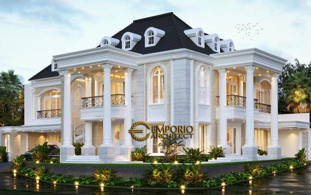 5 Desain Rumah Klasik 2 Lantai Terbaik di Awal Tahun 2021