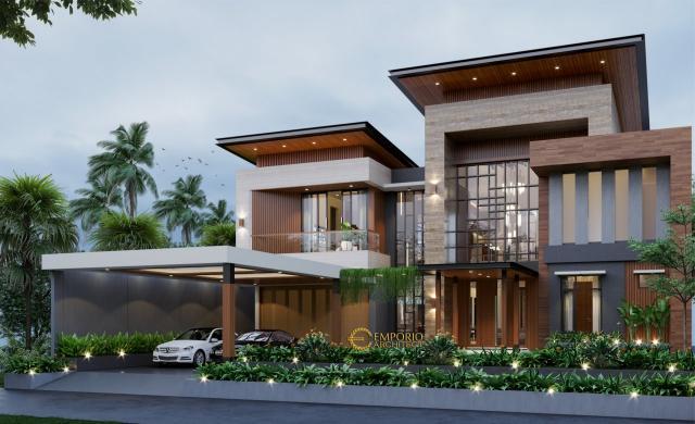 5 Desain Rumah Modern 2 Lantai Terbaik dengan Lebar Lahan Lebih Dari Sama Dengan 30 meter