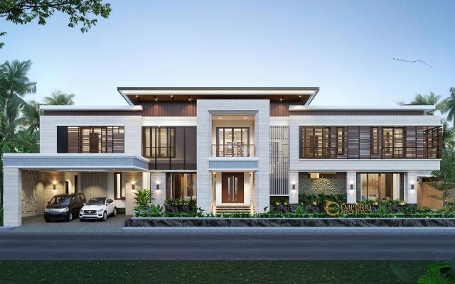 5 Desain Rumah Modern 2 Lantai Terbaik Karya Emporio Architect di Tahun 2020