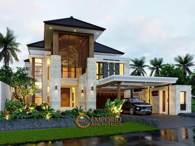 5 Desain Rumah Villa Bali 2 Lantai Terbaik Sepanjang Tahun 2020