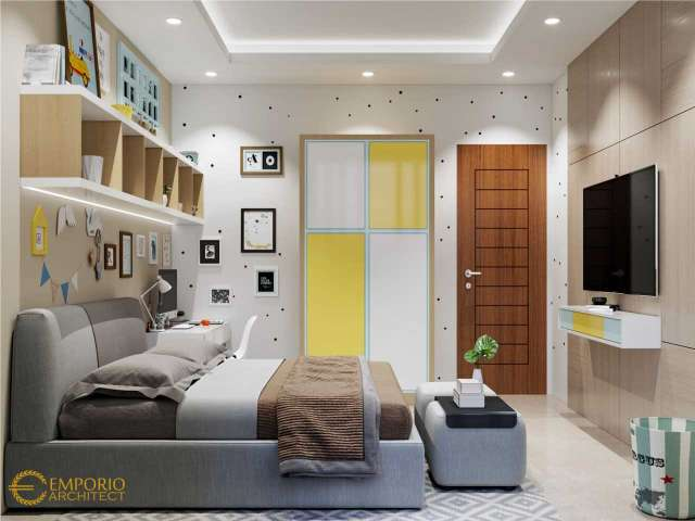 5 Interior Kamar Tidur Anak Terbaik Karya Emporio Architect