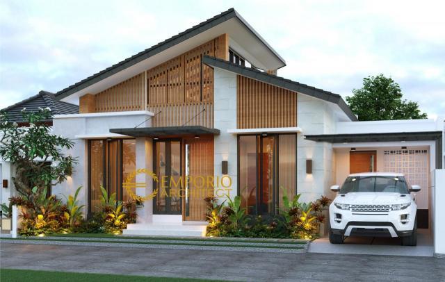 6 Inspirasi Desain Fasad Rumah Minimalis Sederhana yang Terkesan Mewah Karya Jasa Arsitek Rumah Minimalis - Emporio Architect