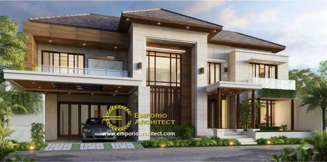 Inspirasi Desain Rumah Mewah Dengan Sentuhan Berbeda