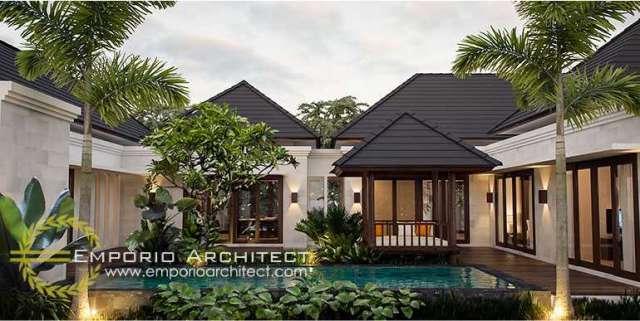 Jasa Desain Rumah Style Bali Modern di Jakarta