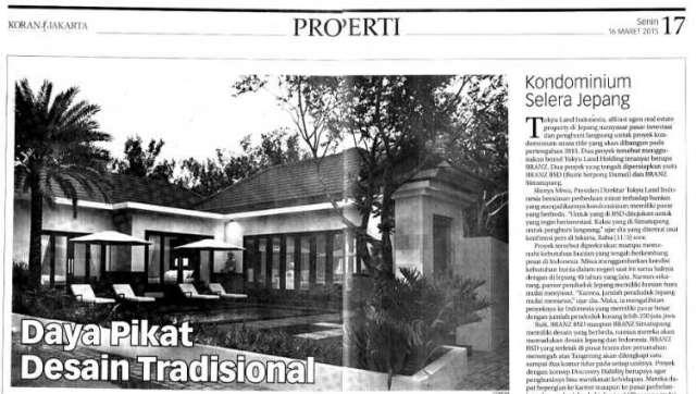 Ulasan Media Koran Jakarta - Daya Pikat Desain Tradisional