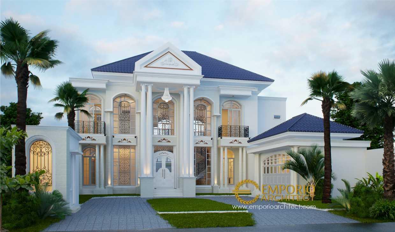 Desain Rumah Klasik Nan Megah dan Mewah
