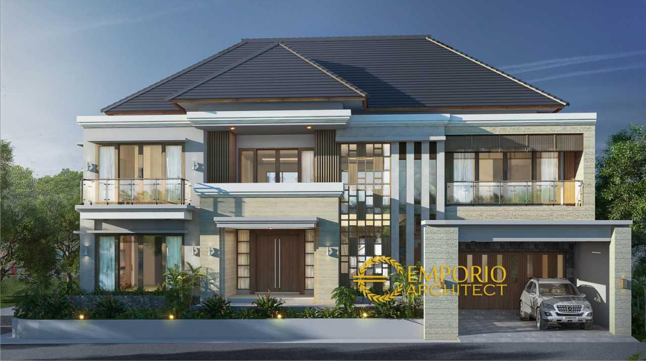 Intip Kemewahan dan Harga Desain Rumah Bergaya Villa Bali Tropis di Jogja