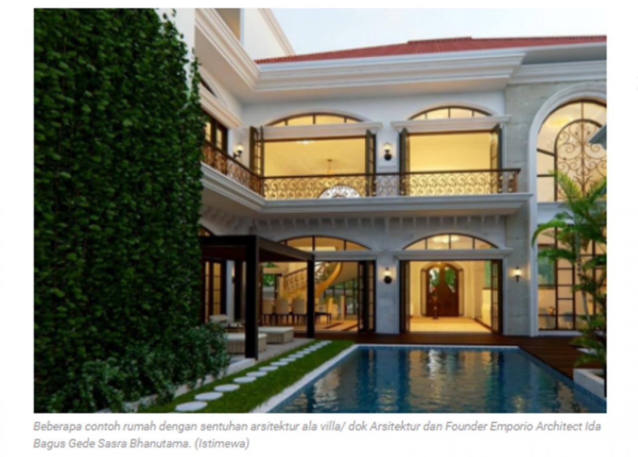 Ulasan Media JawaPos.com - Tren Gaya Hidup Mewah di dalam Rumah Ala Villa Serasa Liburan 2 2