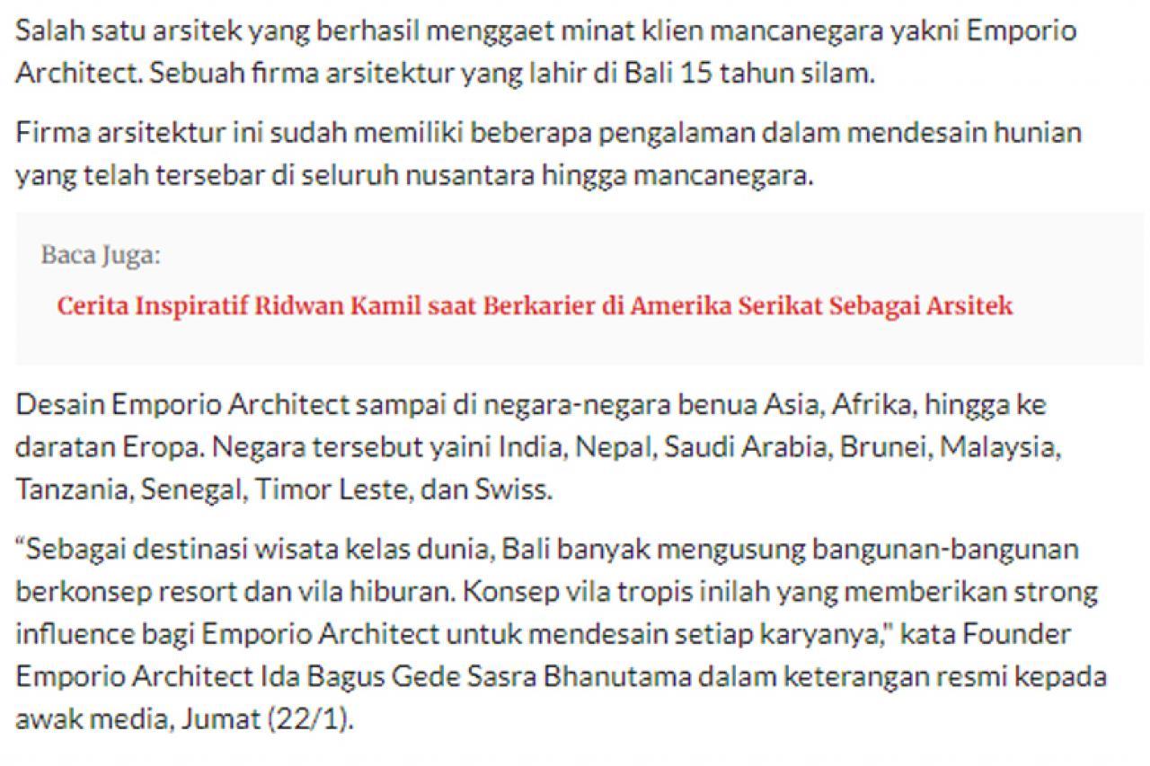 Ulasan Media jpnn.com - Keren, Tim Arsitek Muda Indonesia Menembus Pasar Internasional 2 2