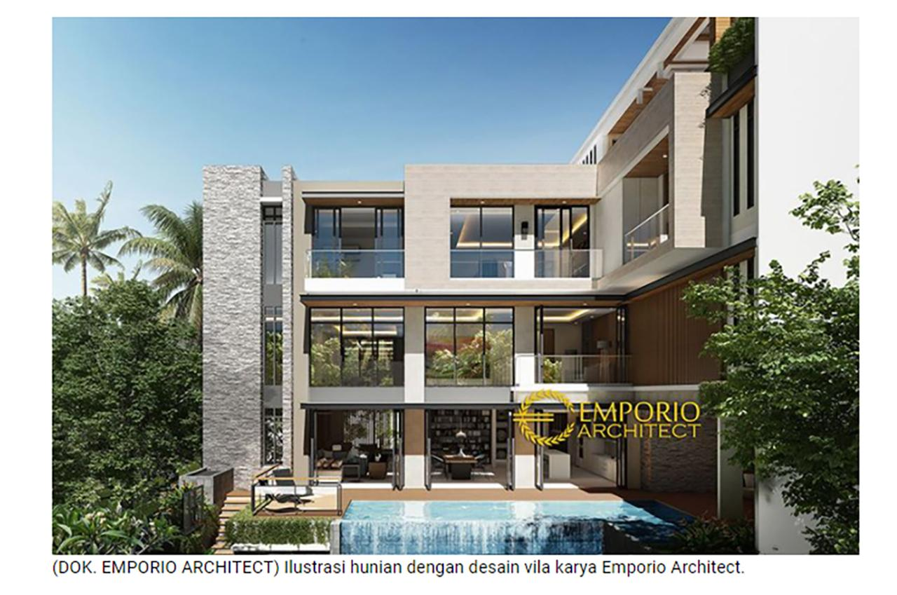 Ulasan Media KOMPAS.com - Tips Membangun Rumah Bergaya Vila agar Tetap Betah Beraktivitas dari Rumah 2 2