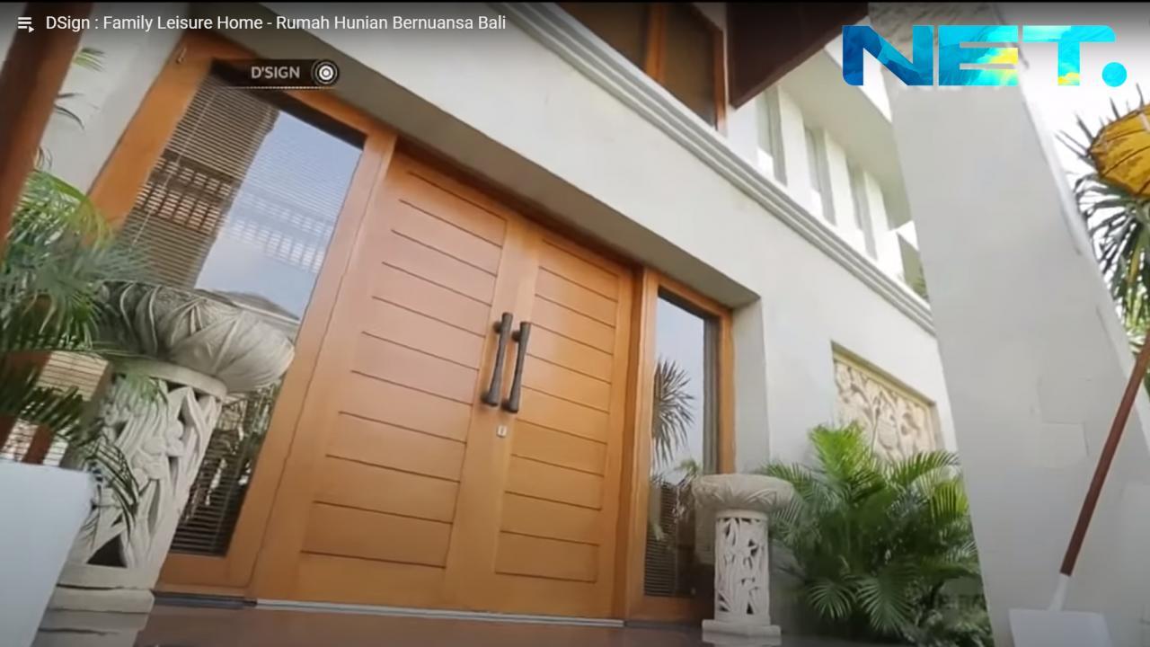 Ulasan Media Rumah Hunian Bernuansa Bali di NET TV
