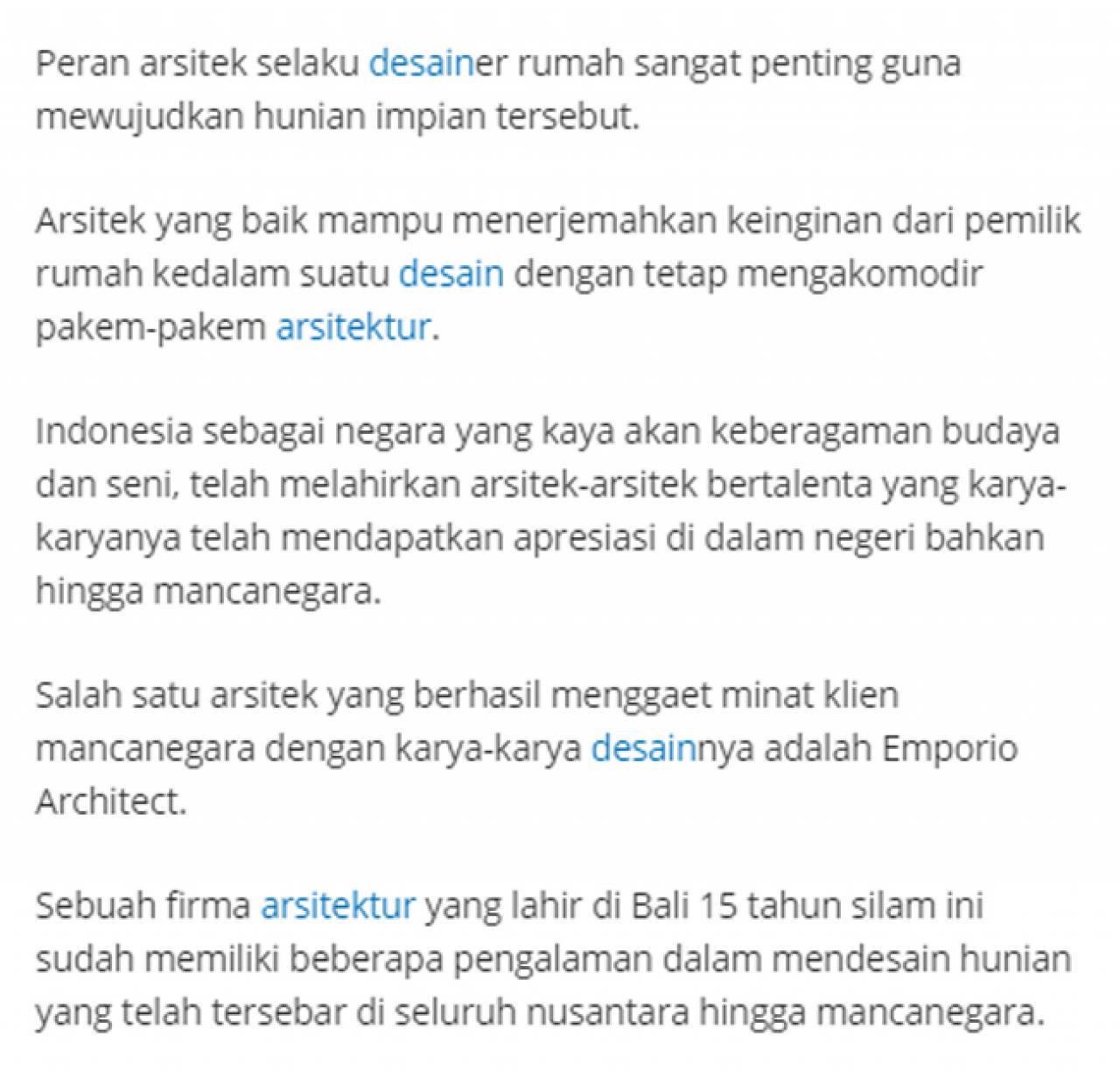 Ulasan Media TribunJakarta.com - Wujudkan Hunian Impian Bersama Emporio Architect, Karya Anak Bangsa yang Sukses Tembus Internasional 2 2