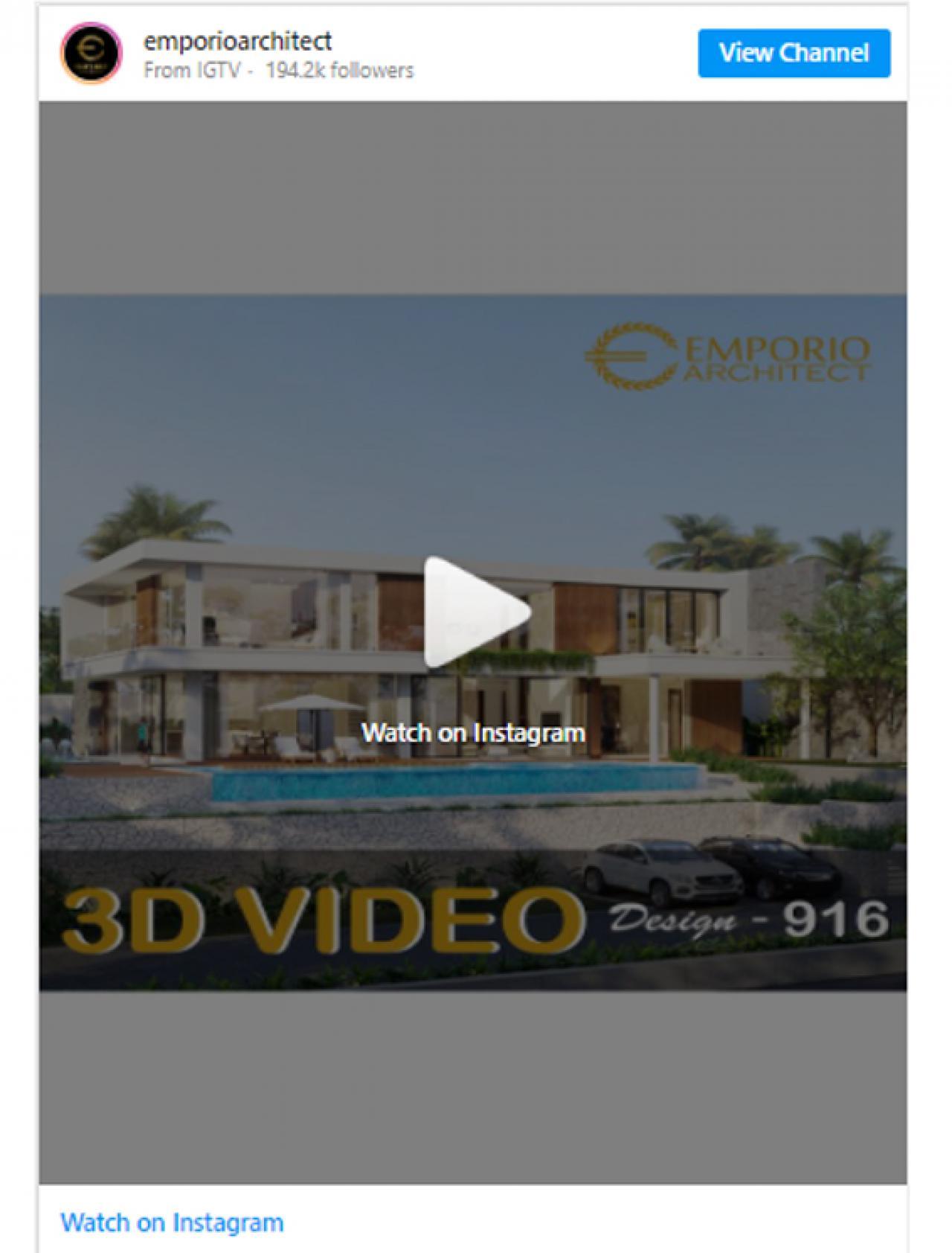 Ulasan Media TribunJakarta.com - Wujudkan Hunian Impian Bersama Emporio Architect, Karya Anak Bangsa yang Sukses Tembus Internasional 3 3