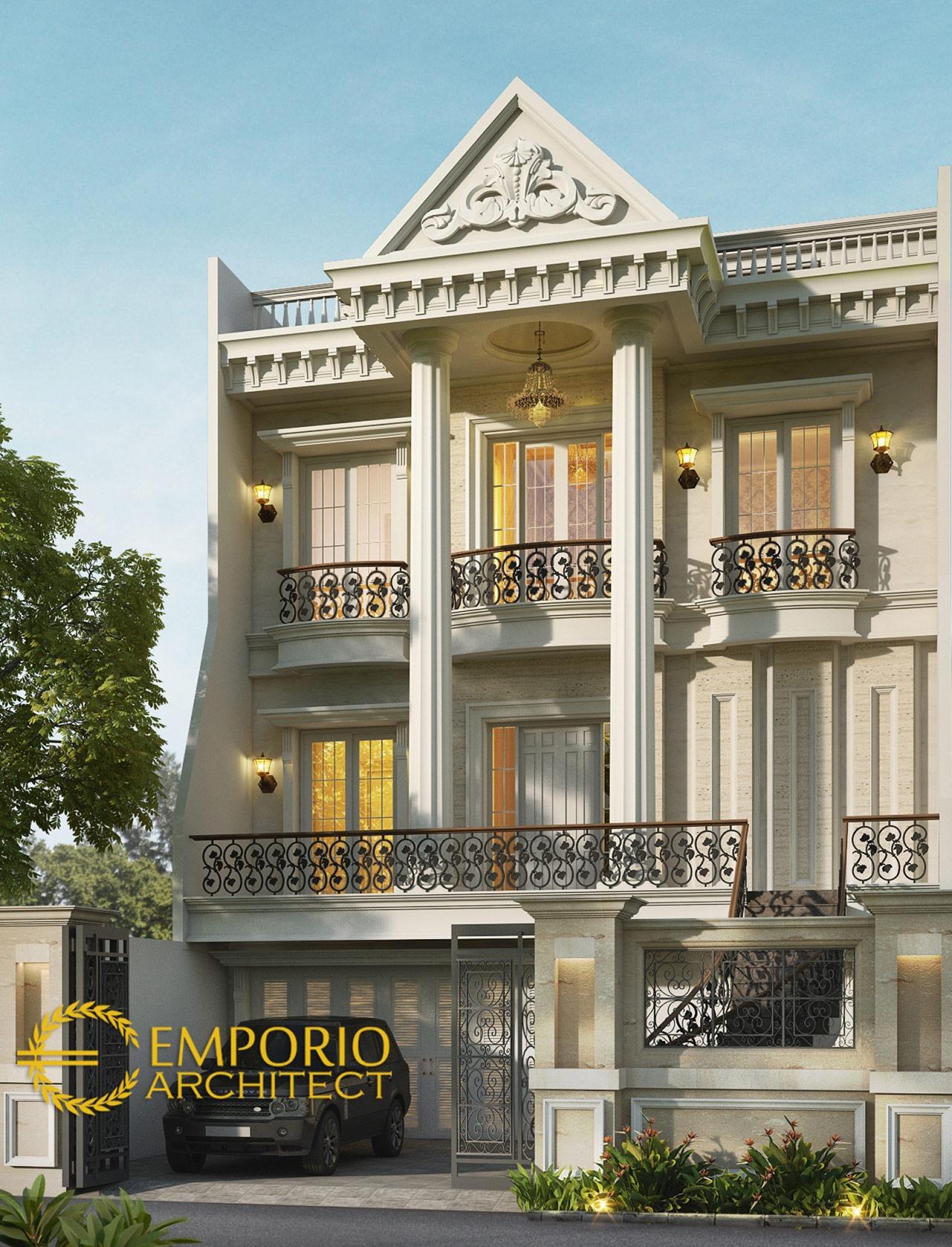 Gallery Desain 10 Desain Rumah 2 Sampai 3 Lantai Terbaik ...
