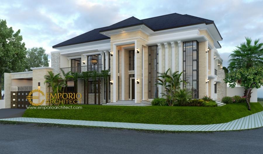 10 Desain Rumah Classic Tropis 2 Lantai Terbaik Pilihan ...