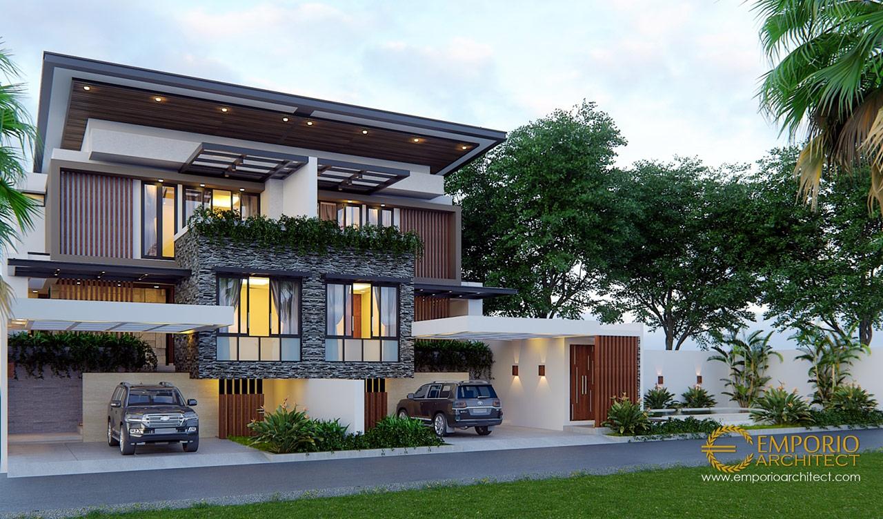 Gallery Desain 10 Desain Rumah Style Modern Tropis 3 ...