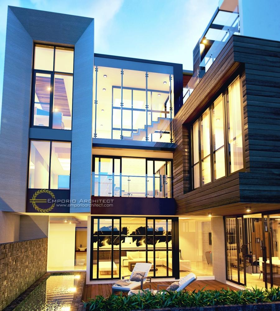 Desain Rumah 3 Lantai Atau Lebih Di Jakarta