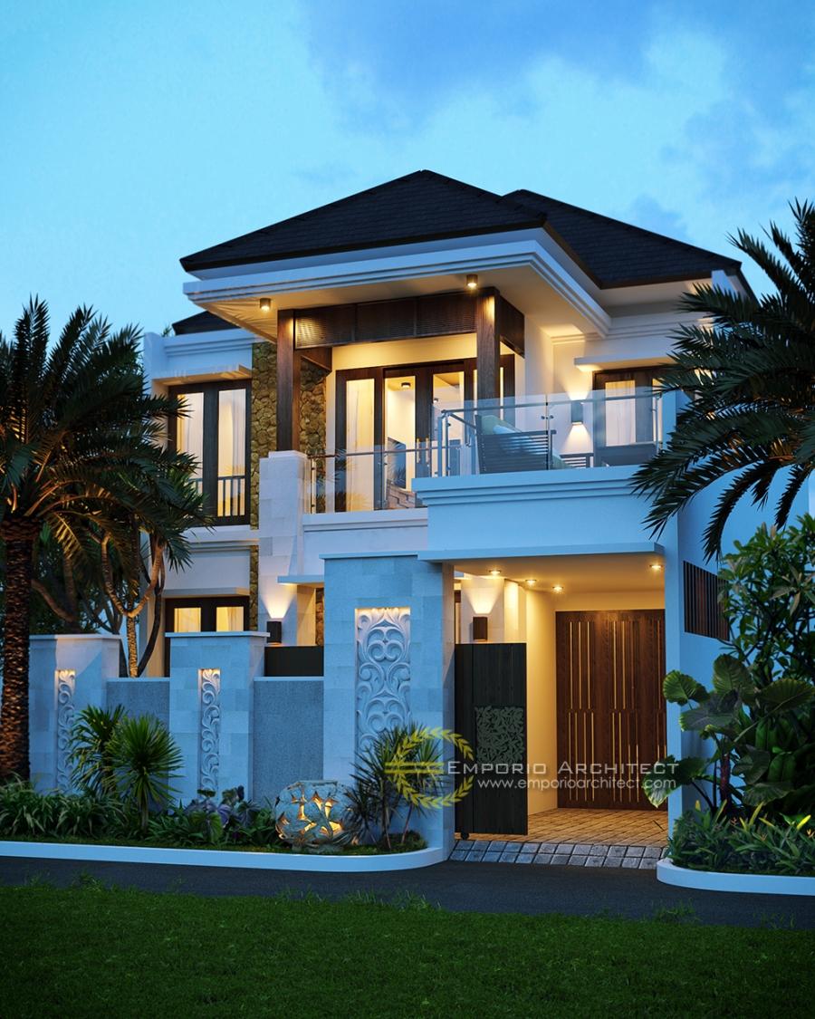 desain rumah dengan balkon 271216034558245724625 0