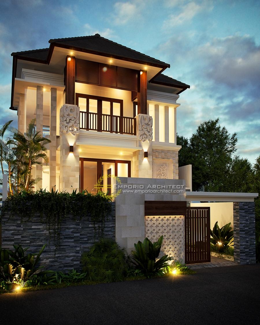Jasa Desain Rumah Makassar: Desain Rumah Dengan Tanaman Gantung