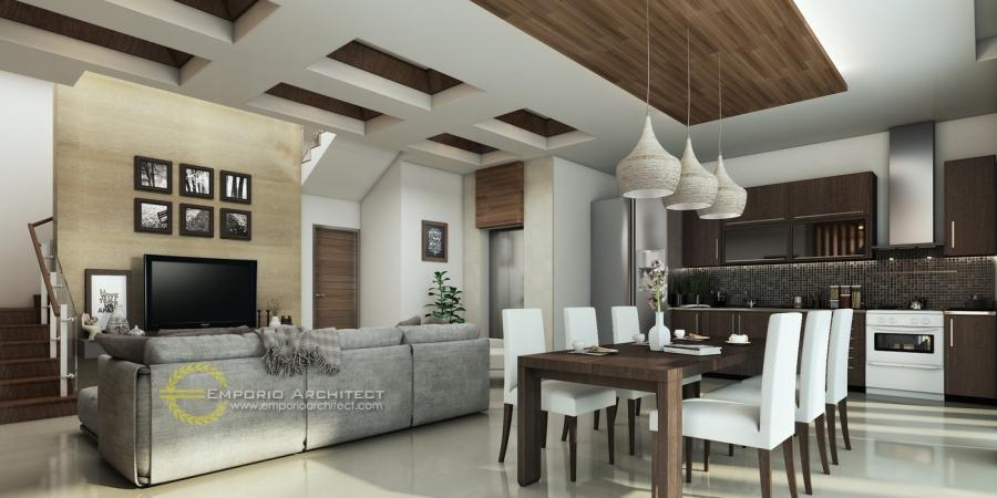Desain Interior Rumah Mewah 1 Lantai  desain rumah mewah dengan atap unik di jakarta