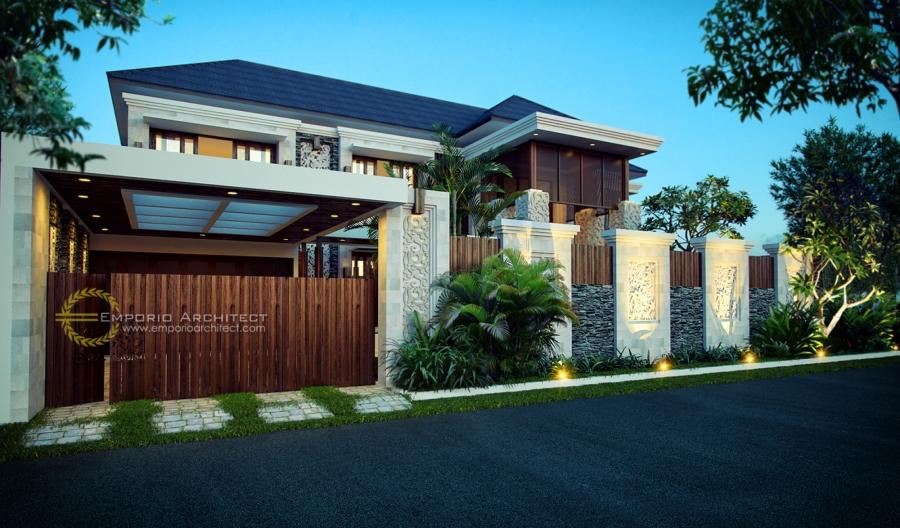 Jasa Arsitek Desain Rumah Mewah Style Villa Bali Tropis Di ...