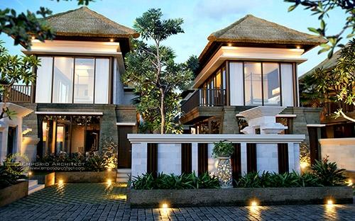10 Desain Villa Tropis Terbaik Pilihan Emporio Architect