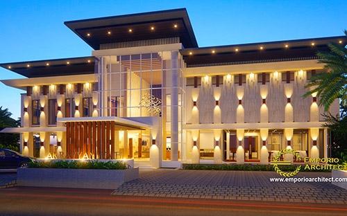 5 Desain Hotel Terbaik dan Termegah dari Emporio Architect
