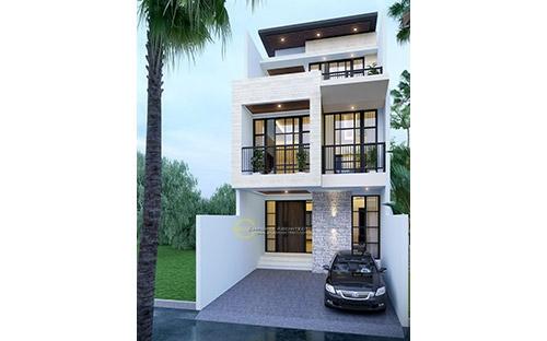 5 Desain Rumah Style Modern Tropis Terbaik dengan Lebar Depan 6 meter