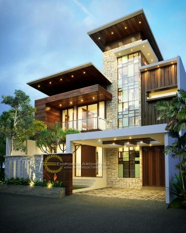 Hasil Karya Jasa Arsitek Desain Rumah Mewah di Jakarta