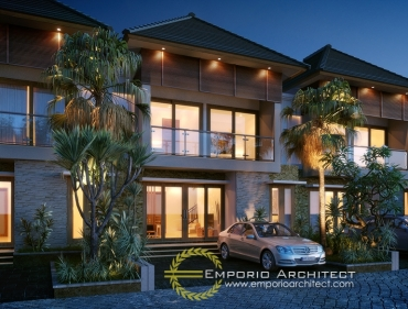 Desain Perumahan 2 Lantai Pilihan Karya Emporio Architect