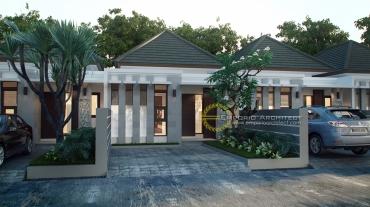 Desain Perumahan Mewah 1 Lantai di Jakarta