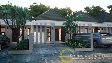 Desain Perumahan Style Villa Bali Tropis