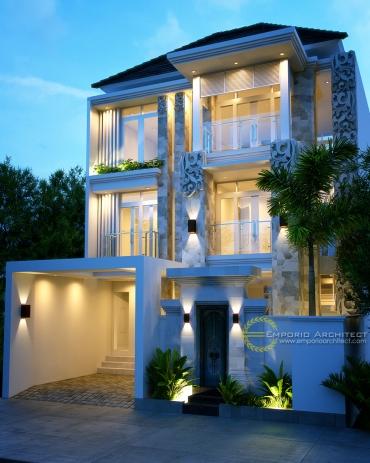 Desain Rumah 3 Lantai di Jakarta