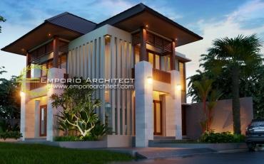 Desain Rumah dengan 2 Sisi Depan