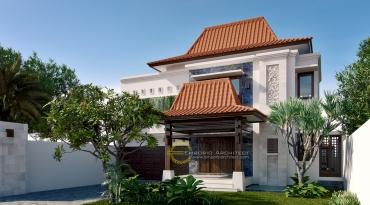 Desain Rumah Terbaik Dengan Atap Unik karya Emporio Architect