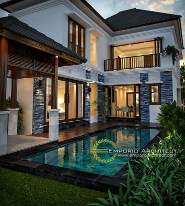 Desain Rumah Dengan Kolam Renang