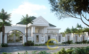 Desain Rumah Klasik, Jasa Arsitek Jakarta