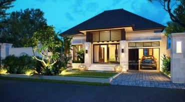 Desain Rumah Mewah 1 Lantai di Jakarta