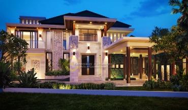 Desain Rumah Mewah Luas di Jakarta