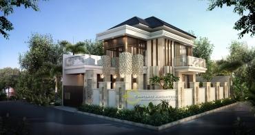 Desain Rumah Mewah Modern 2 Lantai di Jakarta
