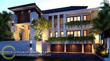 Desain Rumah Villa Arsitek Jakarta