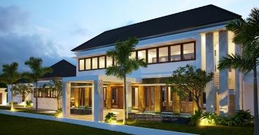 Desain Villa 2 Lantai atau Lebih